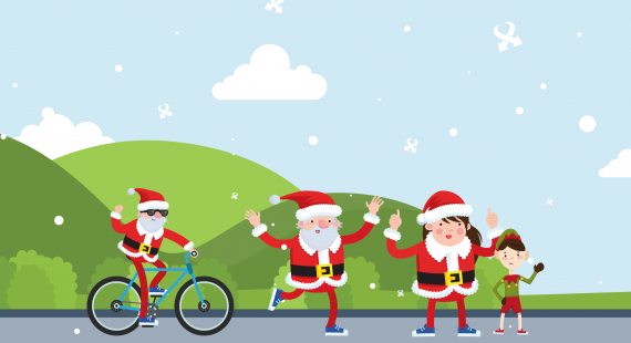 Santa Ride, Run, Ramble 2018