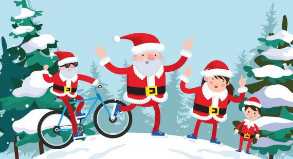 Santa Ride, Run, Ramble 2019